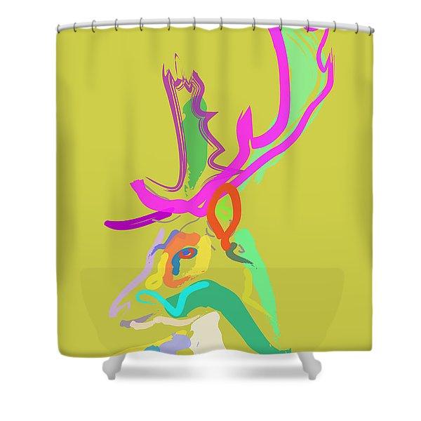 Dear Deer Shower Curtain