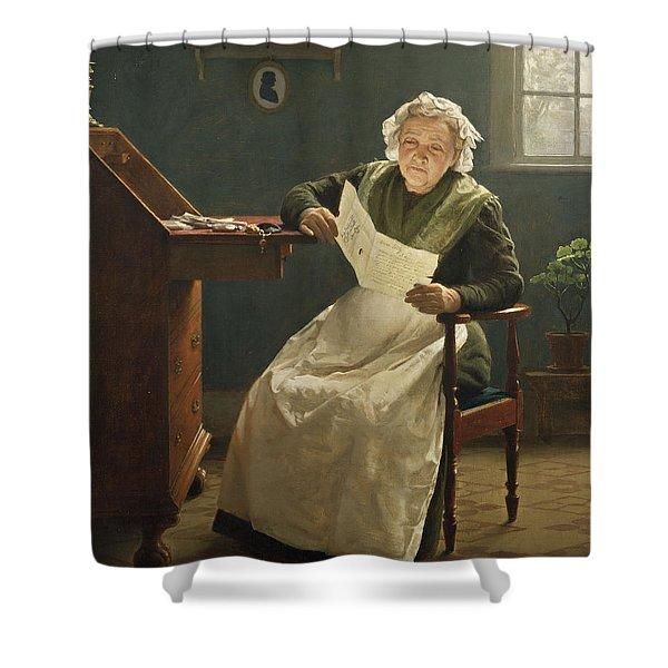Dear Polly Shower Curtain