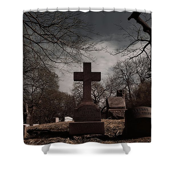 Death To Dawn  Shower Curtain
