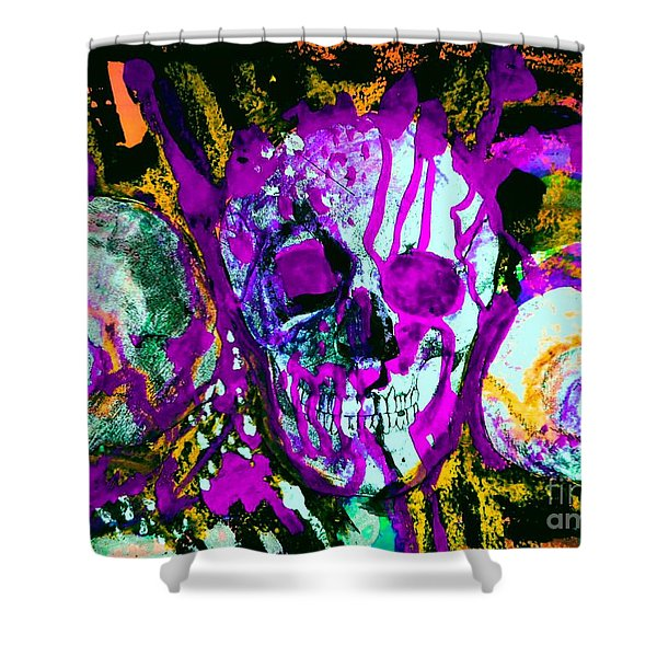 Deathstudy-1 Shower Curtain