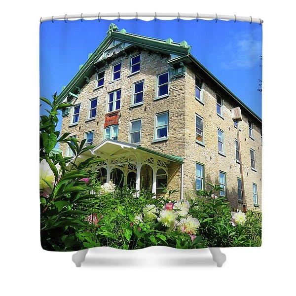 Dec Building Cape Vincent Ny Shower Curtain
