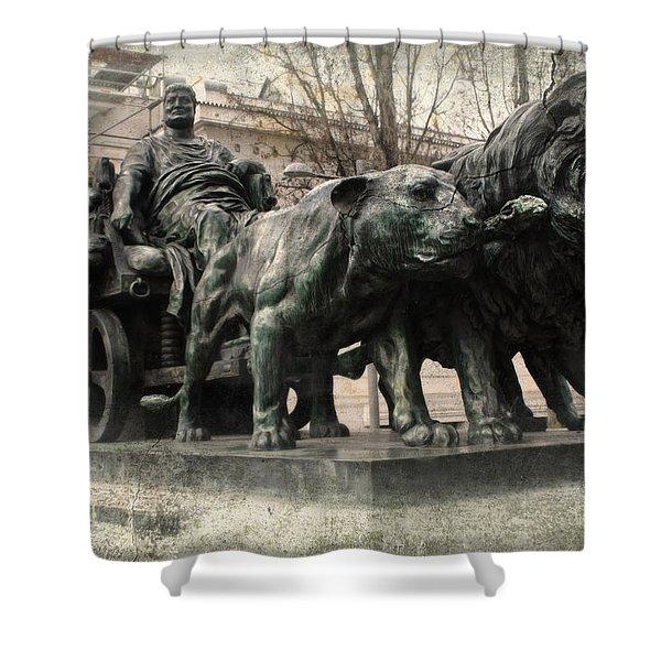Decadent Roman Shower Curtain