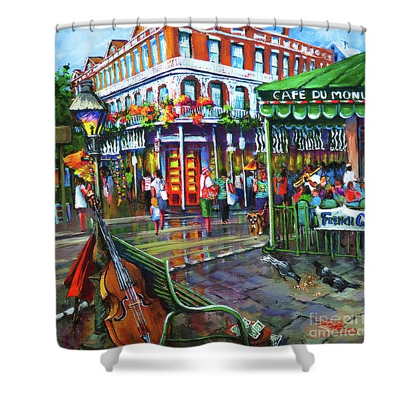 Decatur Street Shower Curtain