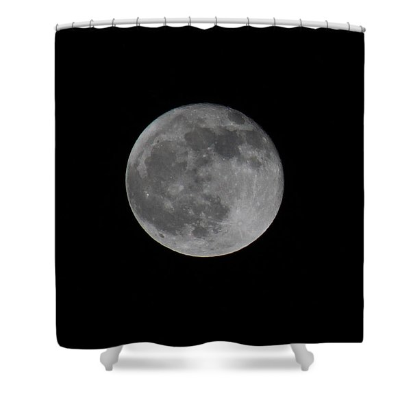 December Moon Shower Curtain