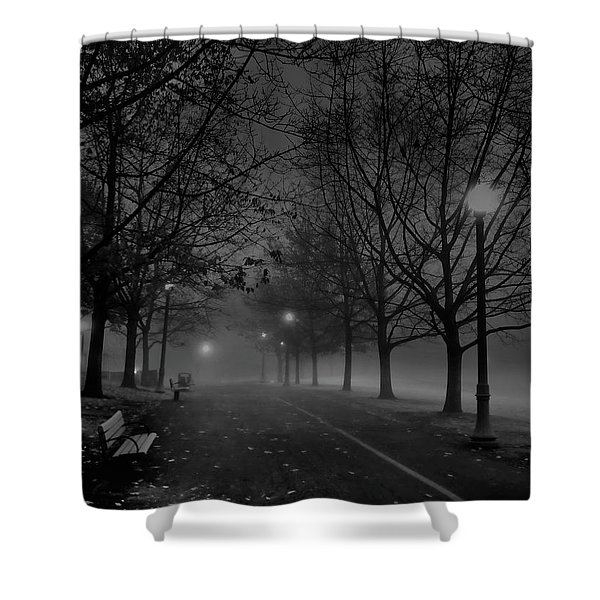 December Morning In Riverfront Park - Spokane Washington Shower Curtain