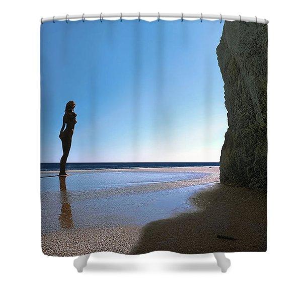 Decent Exposure Shower Curtain