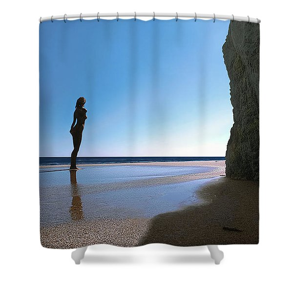 Decent Exposure Shower Curtain