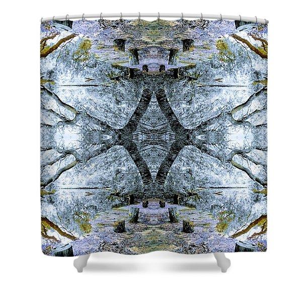 Deciduous Dimensions Shower Curtain