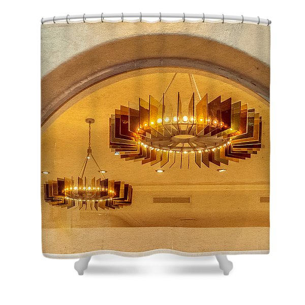 Deco Arches Shower Curtain