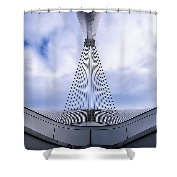 Deconstruction Theory Shower Curtain