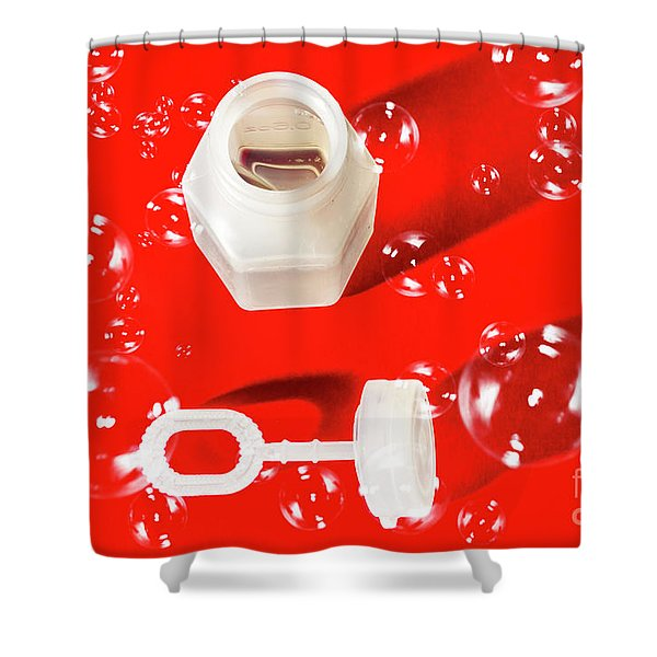 Decorative Christmas Party Shower Curtain