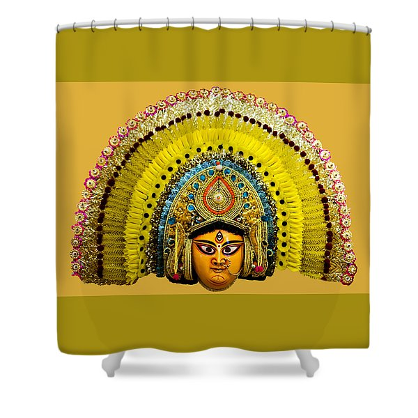 Decorative Headpiece Shower Curtain