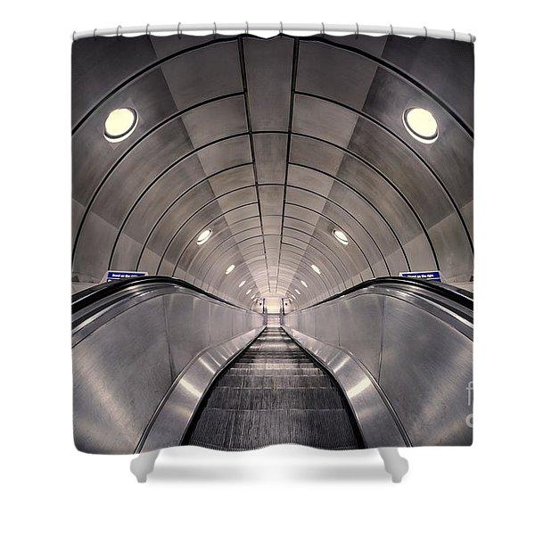 Deep Down Below Shower Curtain