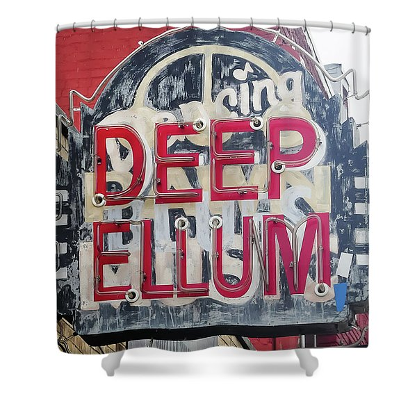Deep Ellum Dallas Texas Shower Curtain