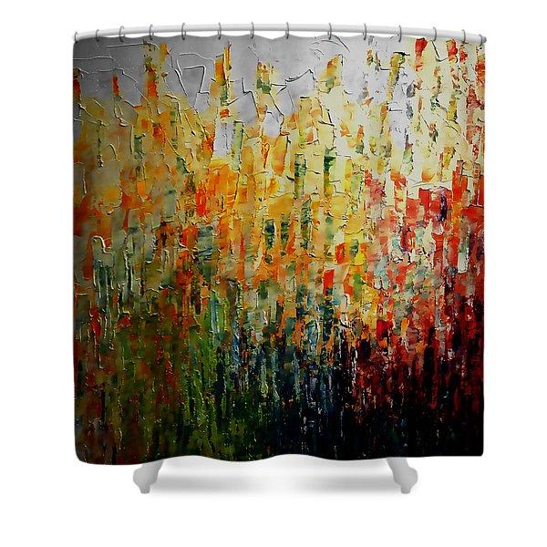 Deep Garden Shower Curtain