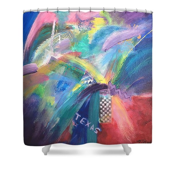 Deep In The Heart. . . Shower Curtain