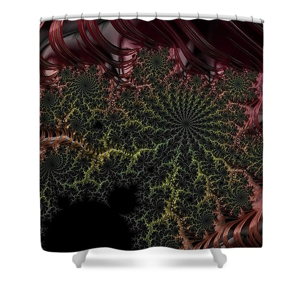 Deep In The Jungle Shower Curtain