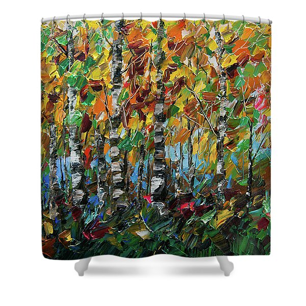Deep In The Woods Shower Curtain