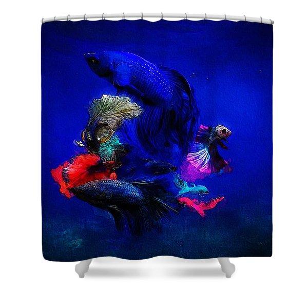Deep Oceans Shower Curtain