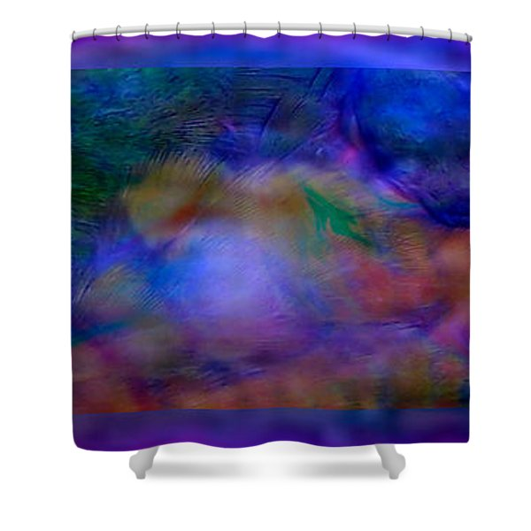 Deep Waters Shower Curtain