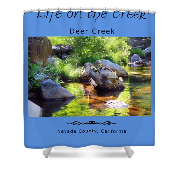 Deer Creek Ferns Shower Curtain