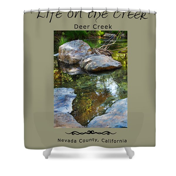 Deer Creek Point Shower Curtain