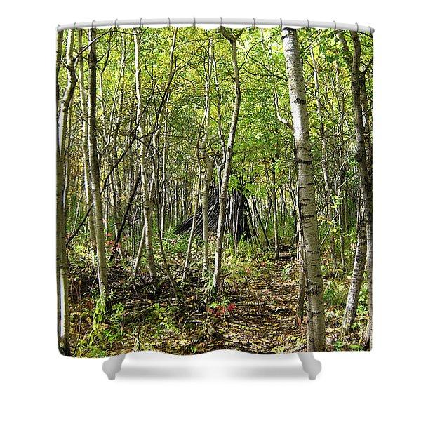 Deer Hide Shower Curtain
