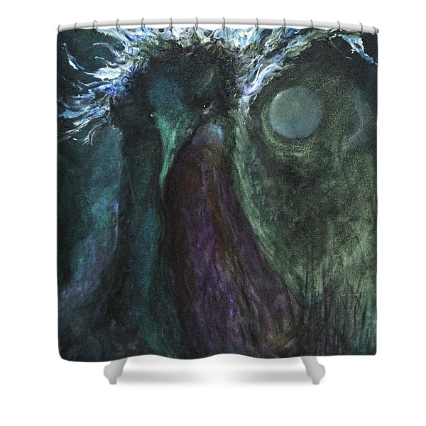 Deformed Transcendence Shower Curtain