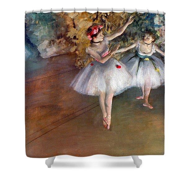 Degas: Dancers, C1877 Shower Curtain
