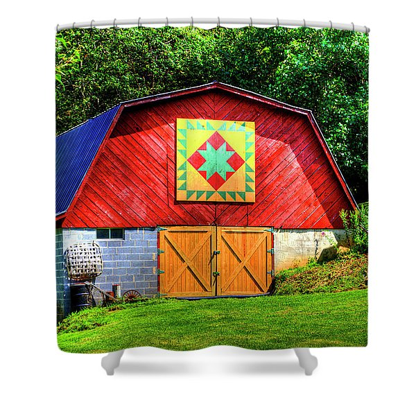 Delectable Mountains Shower Curtain
