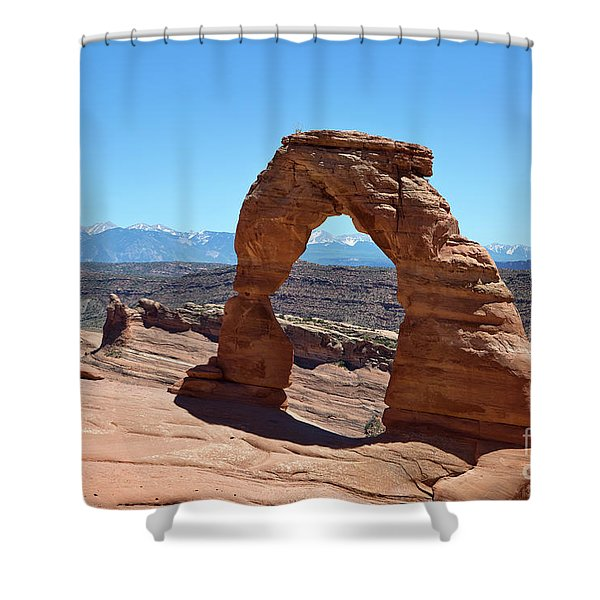 Delicate Arch Arches National Park Shower Curtain
