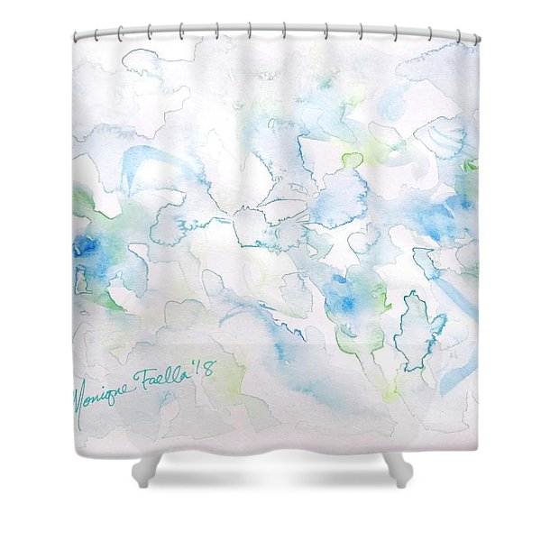 Delicate Elegance Shower Curtain