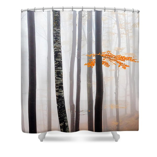 Delicate Forest Shower Curtain