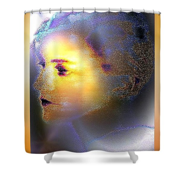 Delicate  Woman Shower Curtain