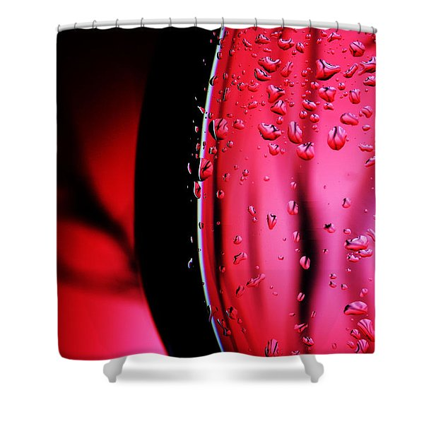 Delicious Red Shower Curtain