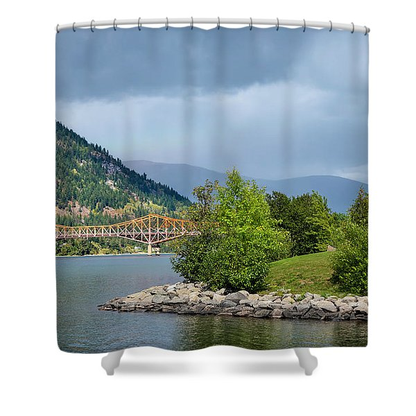 Delightful Park Shower Curtain