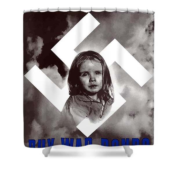 Deliver Us From Evil Shower Curtain