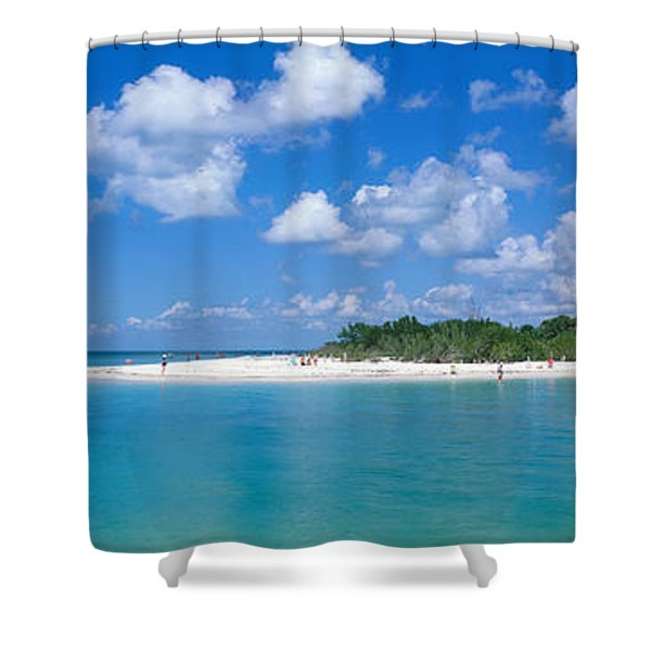 Delnor Wiggins State Park, Florida, Usa Shower Curtain