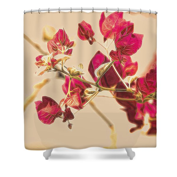 Delonix Regia Fine Art Shower Curtain
