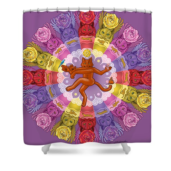 Deluxe Tribute To Tuko Shower Curtain