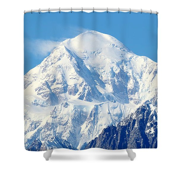 Denali From Denali Viewpoint South Shower Curtain