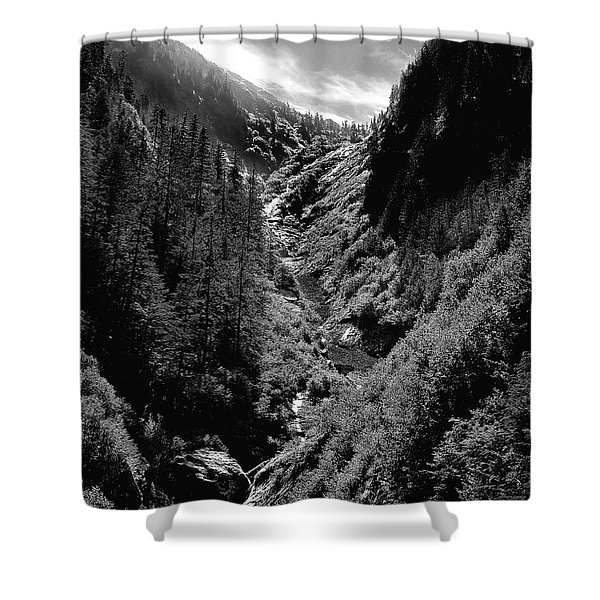 Denali National Park 3 Shower Curtain