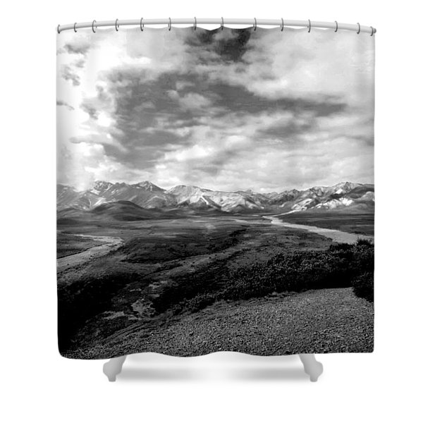 Denali National Park 4 Shower Curtain