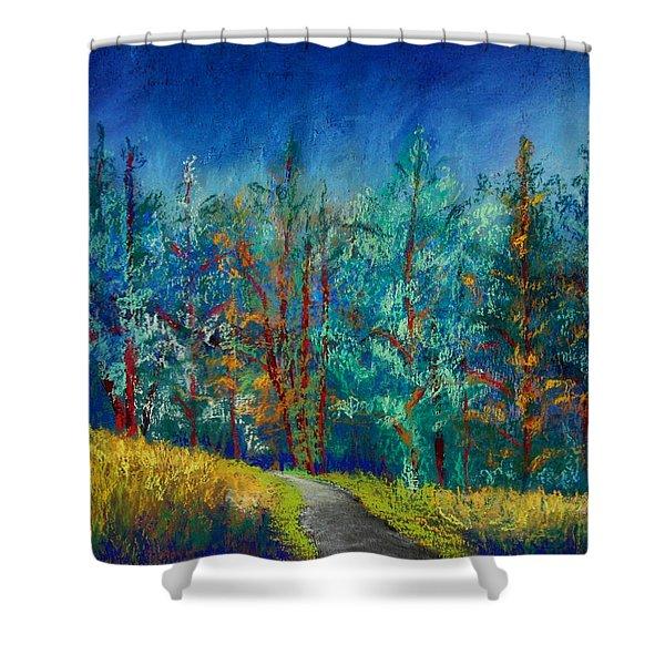 Dense Forest Shower Curtain