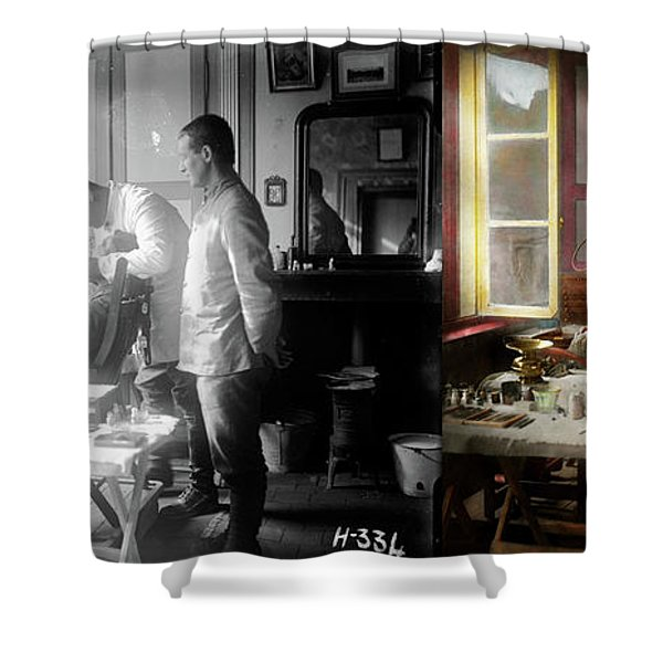 Dentist - The Horrors Of War 1917 - Side By Side Shower Curtain