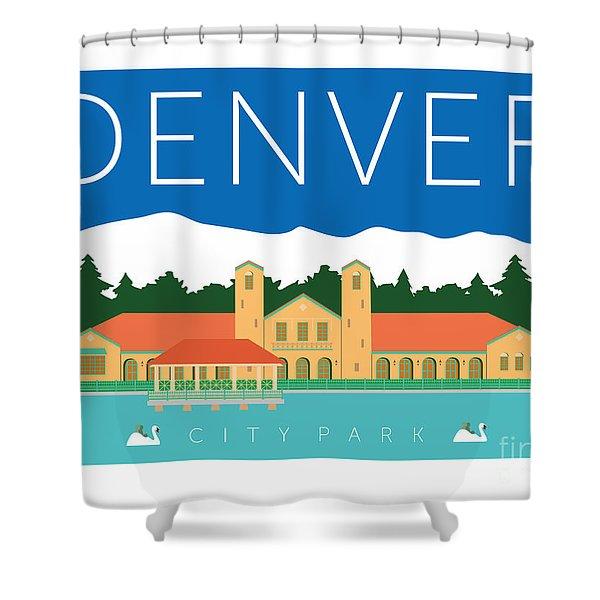 Denver City Park Shower Curtain