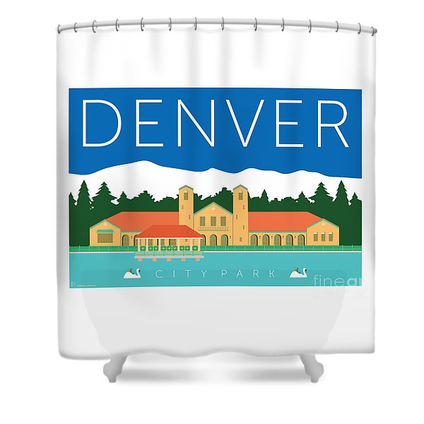 Denver City Park Shower Curtain