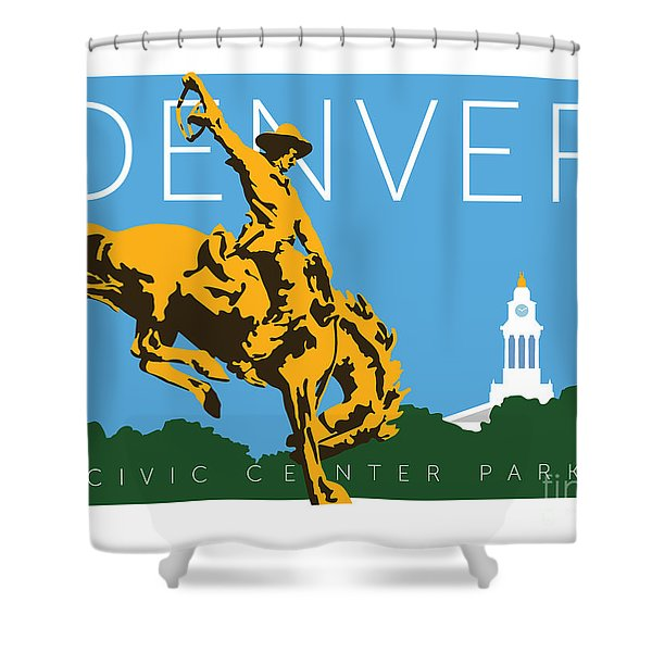 Denver Civic Center Park Shower Curtain