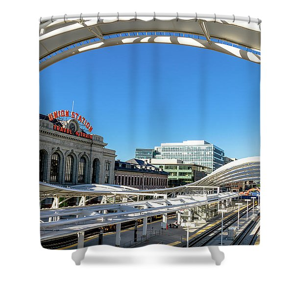 Denver Co Union Station Shower Curtain