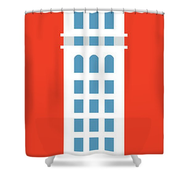 Denver D And F Tower/tall Shower Curtain